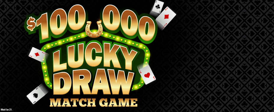 $100,000 Lucky Draw Match Game
